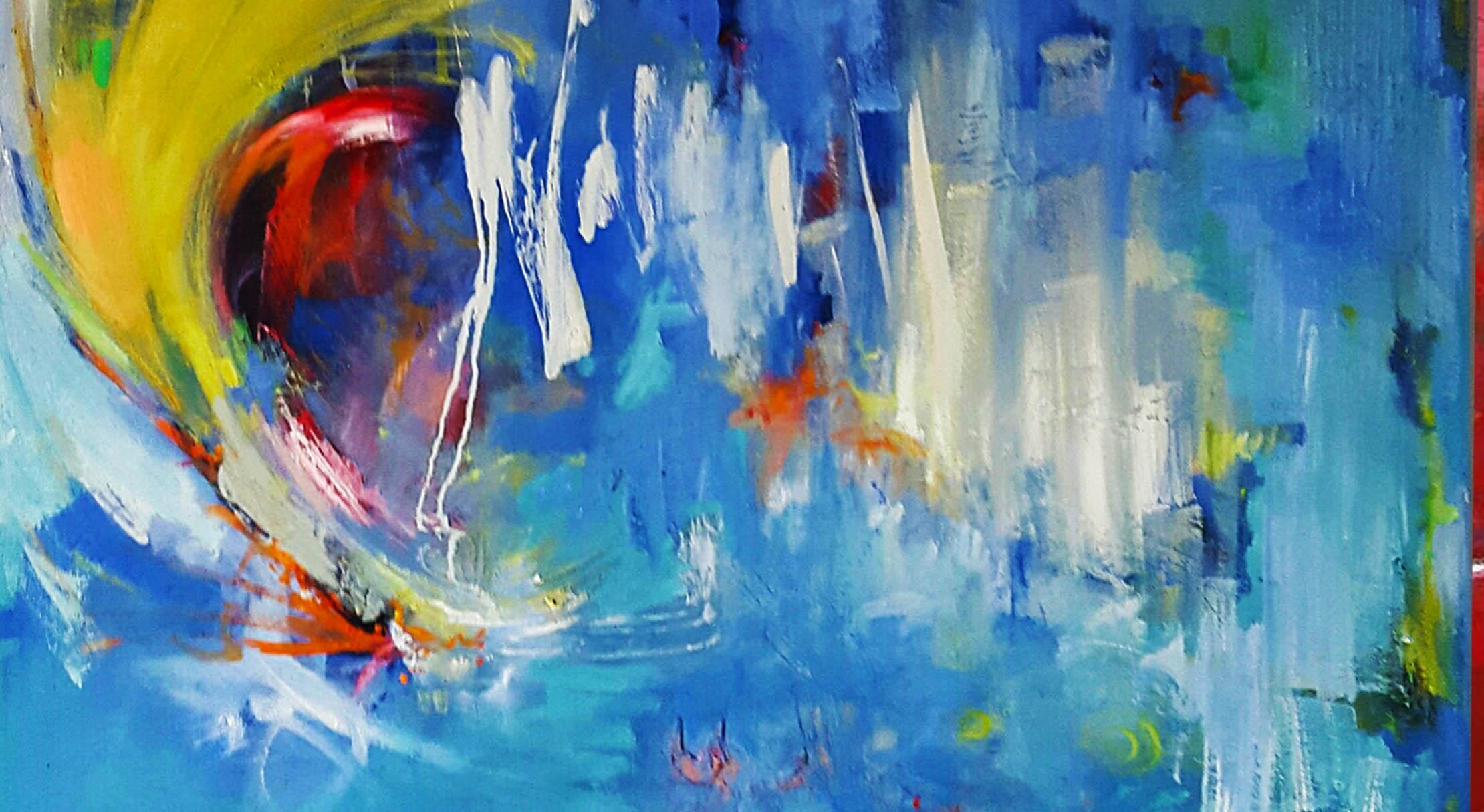 Intuïtief schilderen – Eendaagse schildersworkshop 1 November